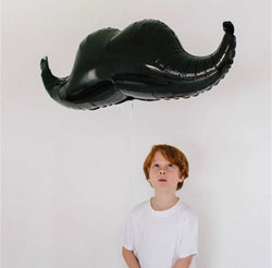 1pcs Little Man Mustache Foil Balloon