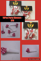 10pcs Party Blowers