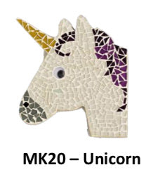 Unicorn mosaic kit