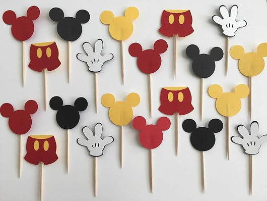 1pcs Mickey Mouse Cake Topper