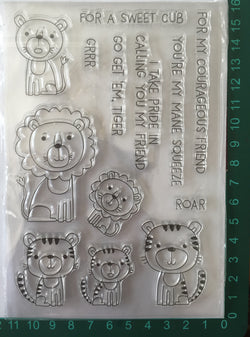 Sweet Cub Sentiment Stamp Set