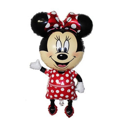 1pcs Large Minnie Mouse Foil Balloon
