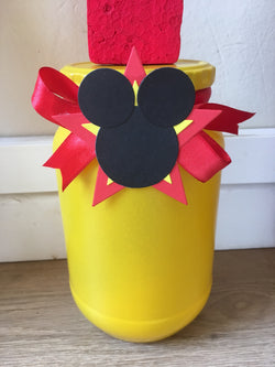 1Pcs Decorated Letter Pot