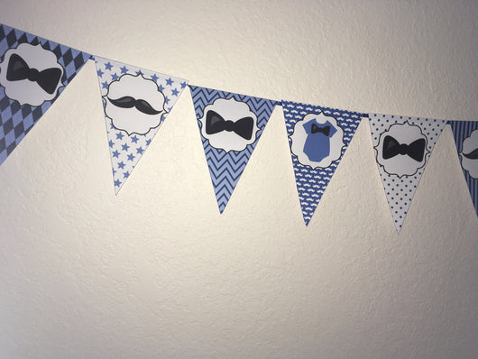 Little Man Bunting Flags