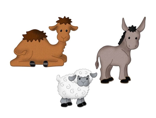 Sheep, Donkey and Camel Cutting Die Set