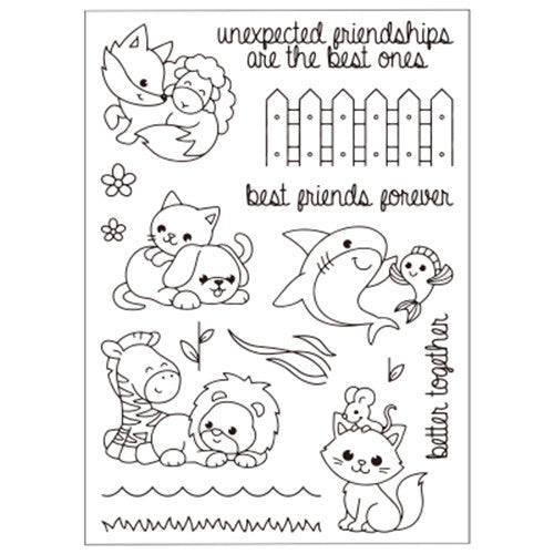 Good Friends Stamp set