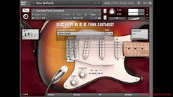 Custom Chord Patterns - Native Instruments Scarbee Funk Guitarist