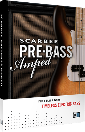 SCARBEE PRE-BASS AMPED