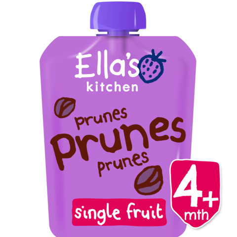 Ella's Kitchen Prunes, Prunes, Prunes, 70g (From 4 Months) EXP: October 30, 2019