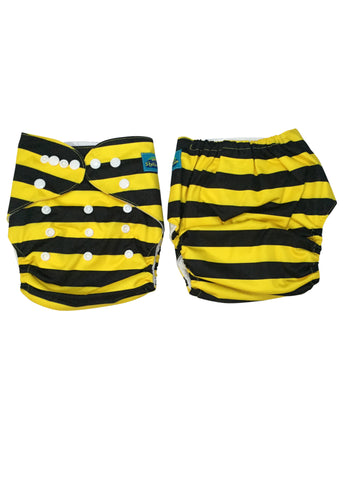 Stella and Chan - Cloth Diaper, Beetiful Baby