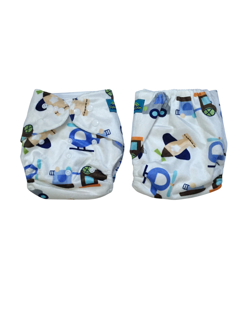 Stella and Chan - Cloth Diaper, Speedy Baby
