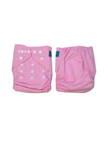 Stella and Chan - Cloth Diaper, Bubblegum Pink