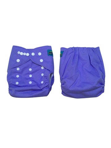 Stella and Chan - Cloth Diaper, Blue Magic