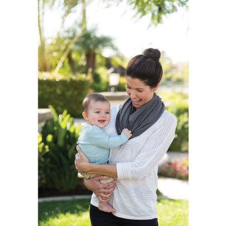 Infantino Infinity Scarf Nursing Cover, Grey