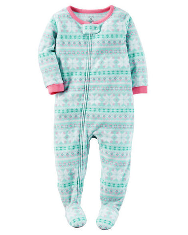 Carters 1-Piece Fleece PJs