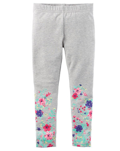Carters Heather Floral Leggings