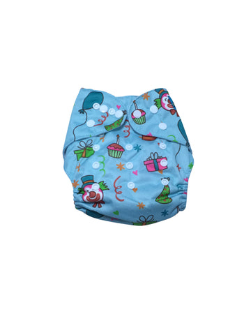 Stella and Chan - Cloth Diaper, Happy Birthday