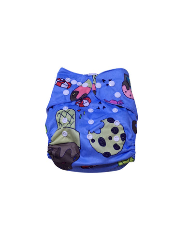Stella and Chan - Cloth Diaper, Candy Baby