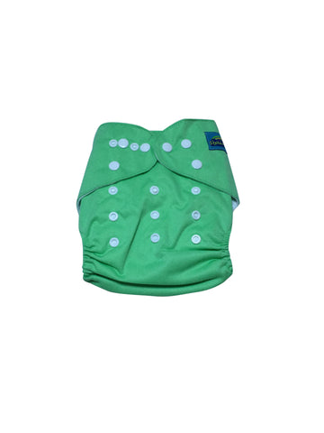 Stella and Chan - Cloth Diaper, Mint Green