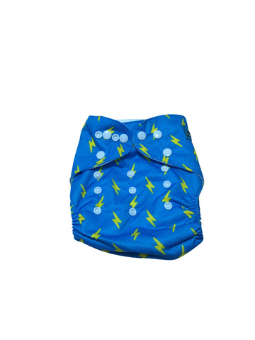 Stella and Chan - Cloth Diaper, Thunder Bolt