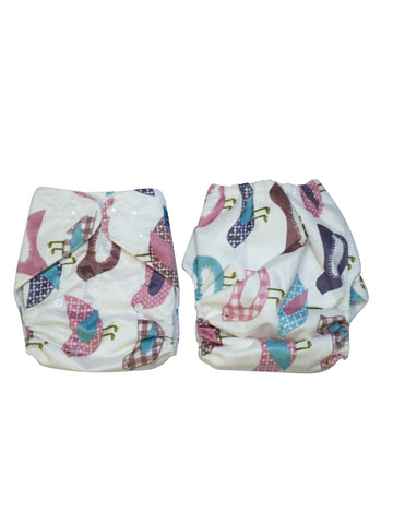 Stella and Chan - Cloth Diaper, Tweet Baby