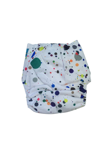 Stella and Chan - Cloth Diaper, Artsy Baby