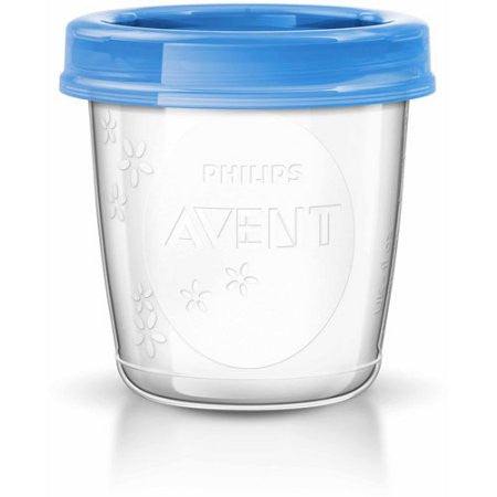 Philips Avent 6-Ounce Breast Milk Storage Starter Set, BPA-Free, 10-Pack