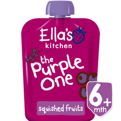 Ella's Kitchen The Purple One Smoothie Single, 90g (From 6 Months)