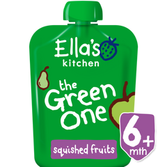 Ella's Kitchen The Green One Smoothie Single, 90g (From 6 Months)