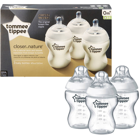 Tommee Tippee 3 9-Ounce Baby Bottle