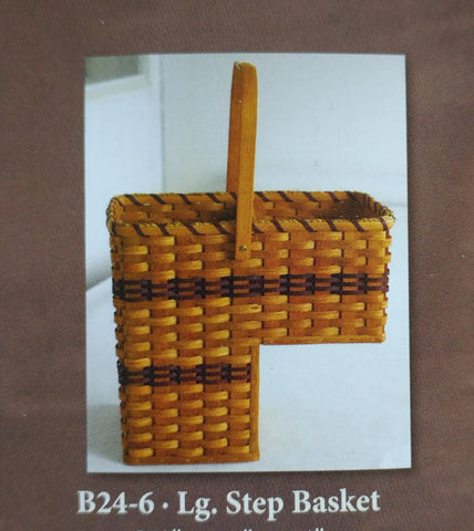 Amish Made Stair Step Basket