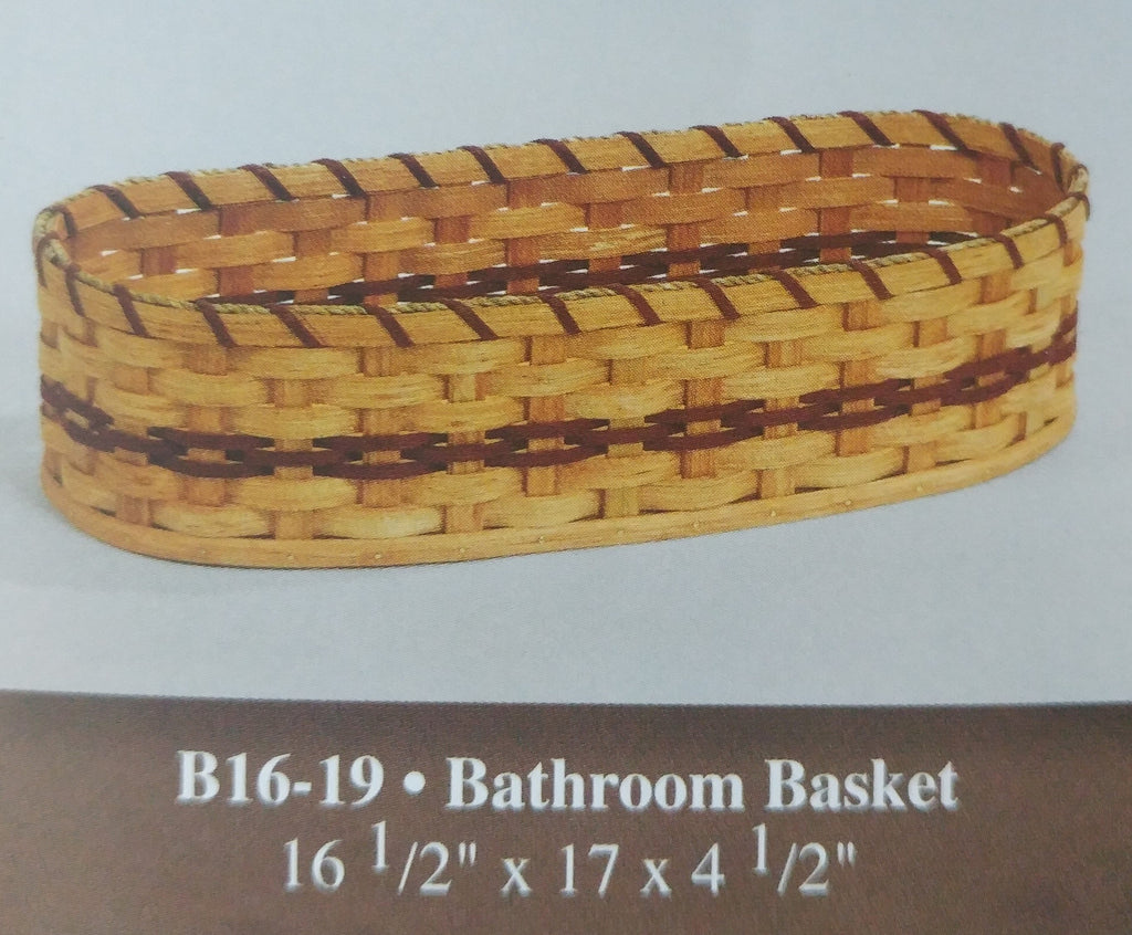Amish Made Bathroom Basket