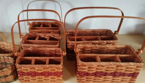 Amish Made Silverware & Napkin Basket