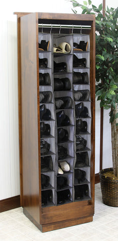 Shaker Shoe Tower