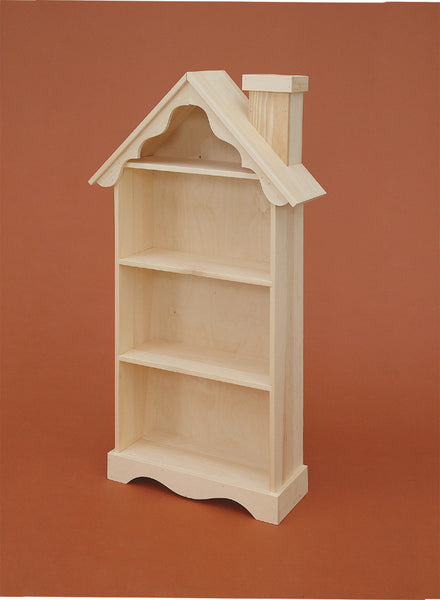 Amish Child's House or Barn Bookshelf