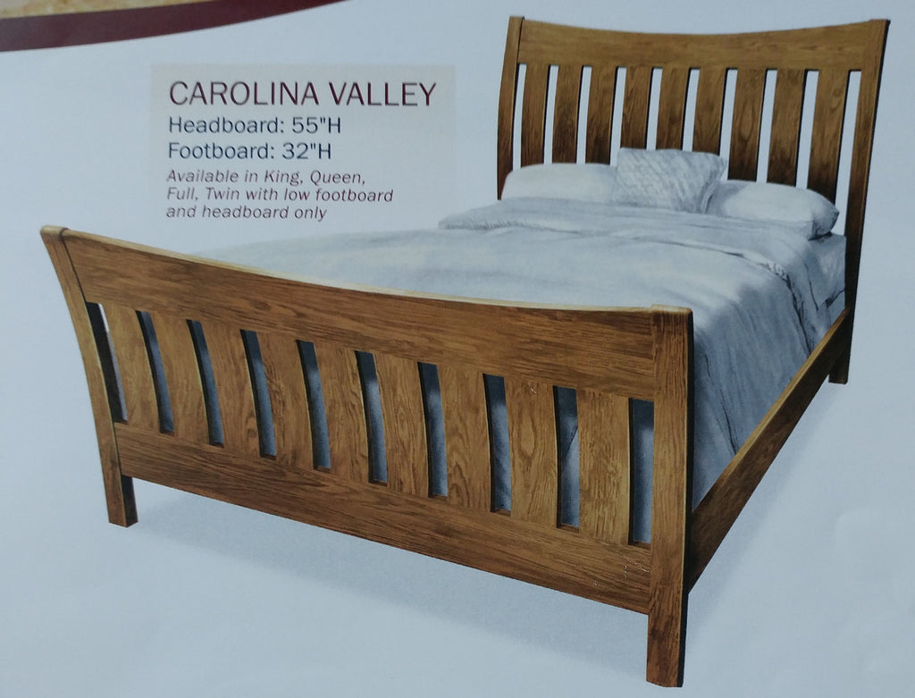 Amish Carolina Valley Bed