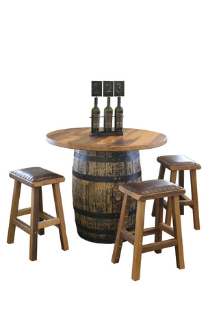 Barrel Pub Table Set