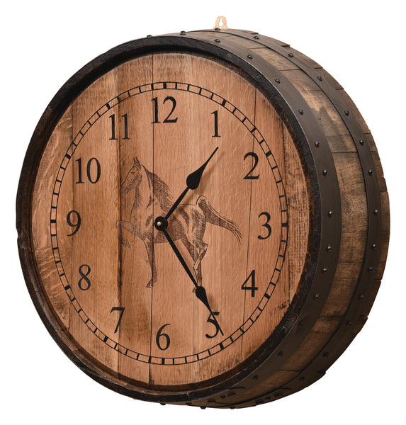 Barrel Clock