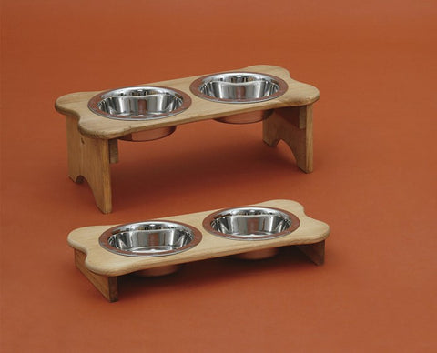 Dog Bone Shaped Bowl Holder