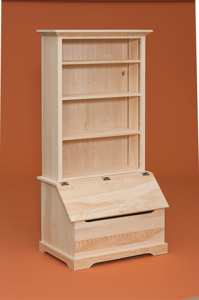 Bookshelf with Toy Chest