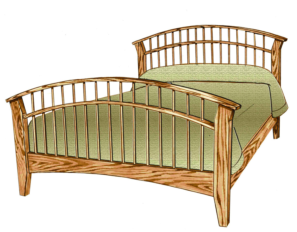 Amish Dowel Bed