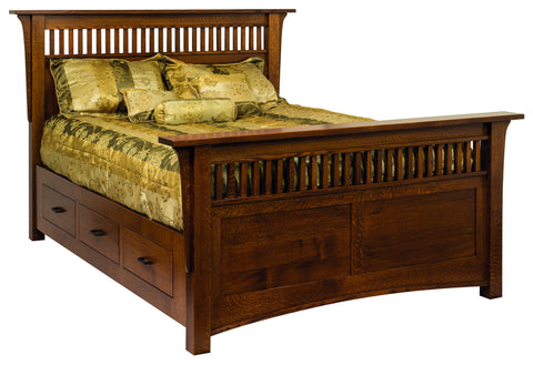 Amish Geneva Bed
