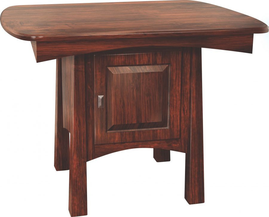Madison Shaker Pub Table with Cabinet