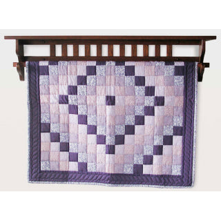 Mission Style Quilt Shelf