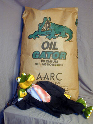 Oil Gator® - Premium Oil Absorbent and Bioremediation Product 1 Bag