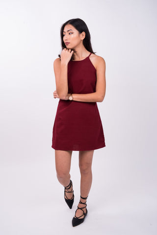 Swing Dress in Red