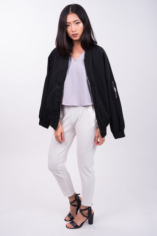 Bomber Jacket in Black