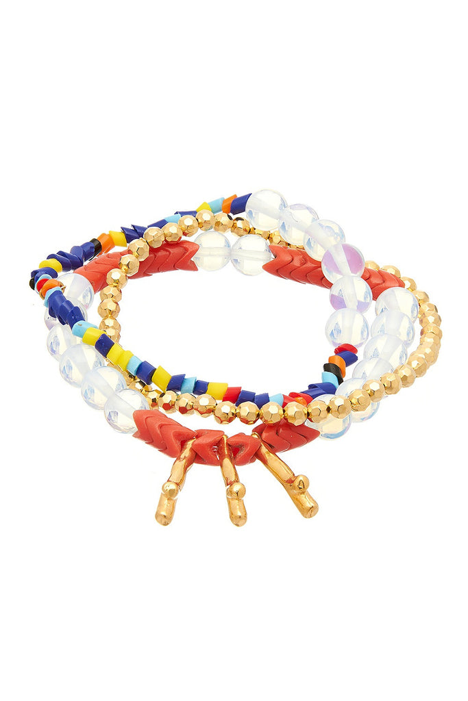 Gummi Spike Red Bracelet - Sugar NY