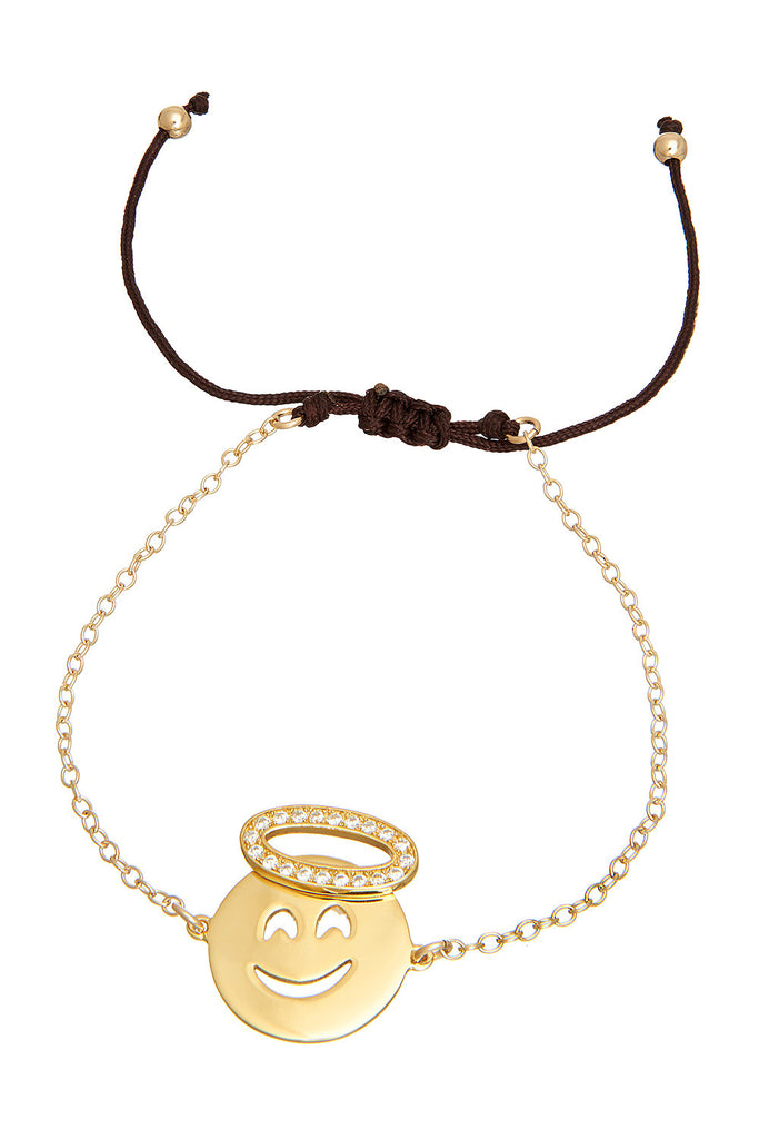 Sterling Angel Bracelet - Sugar NY