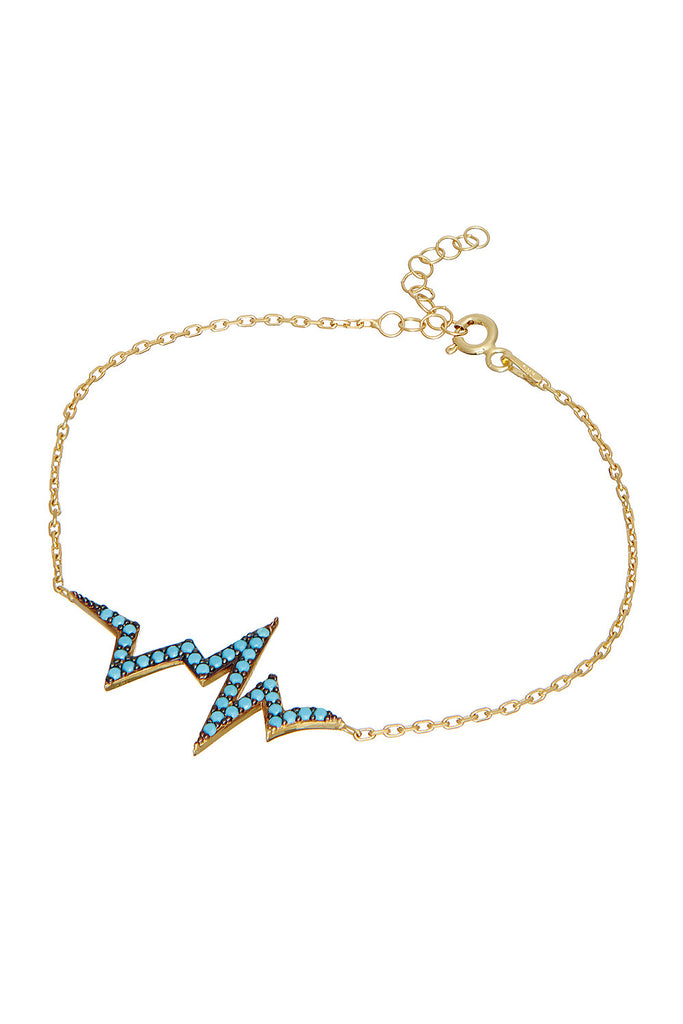 Sterling Heartbeat Bracelet - Sugar NY